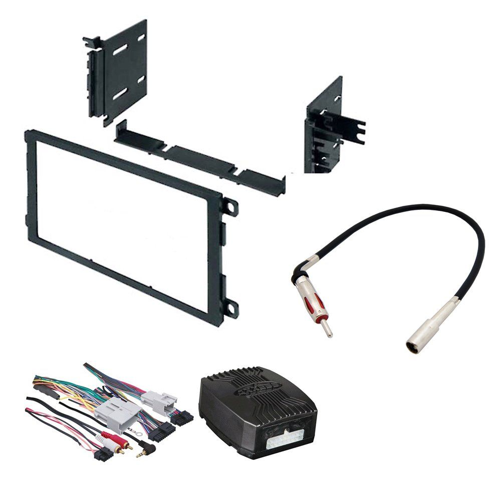 Car Stereo Radio Dash Installation Mounting Kit W Wiring Harness How To Install For Select Buick Cadillac Chevrolet