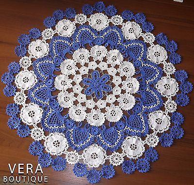Luxury Handmade Crochet Doily Crochet Doilies Red Heart Yarn