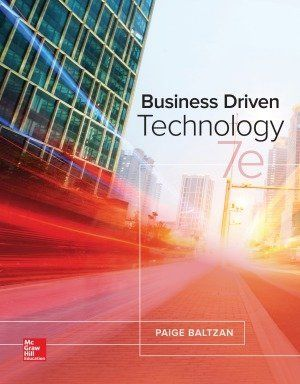 Business driven technology 7th edition by paige baltzan pdf business driven technology 7th edition by paige baltzan pdf ebook sold by textbookland fandeluxe Gallery