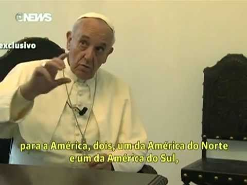 Globonews Exibe Versao Completa Da Entrevista Com O Papa Francisco