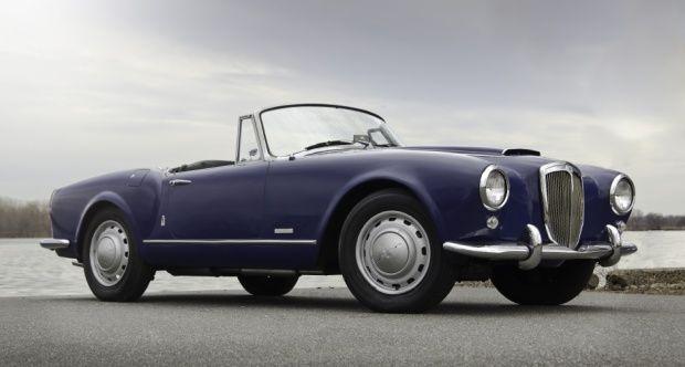1958 lancia aurelia - b24s convertible   lancia aurelia   cars, alfa