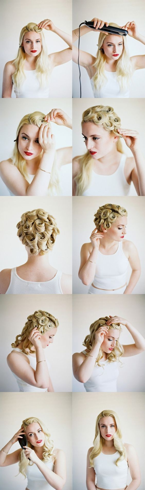 16 Seriously Chic Vintage Wedding Hairstyles | Retro wedding ...