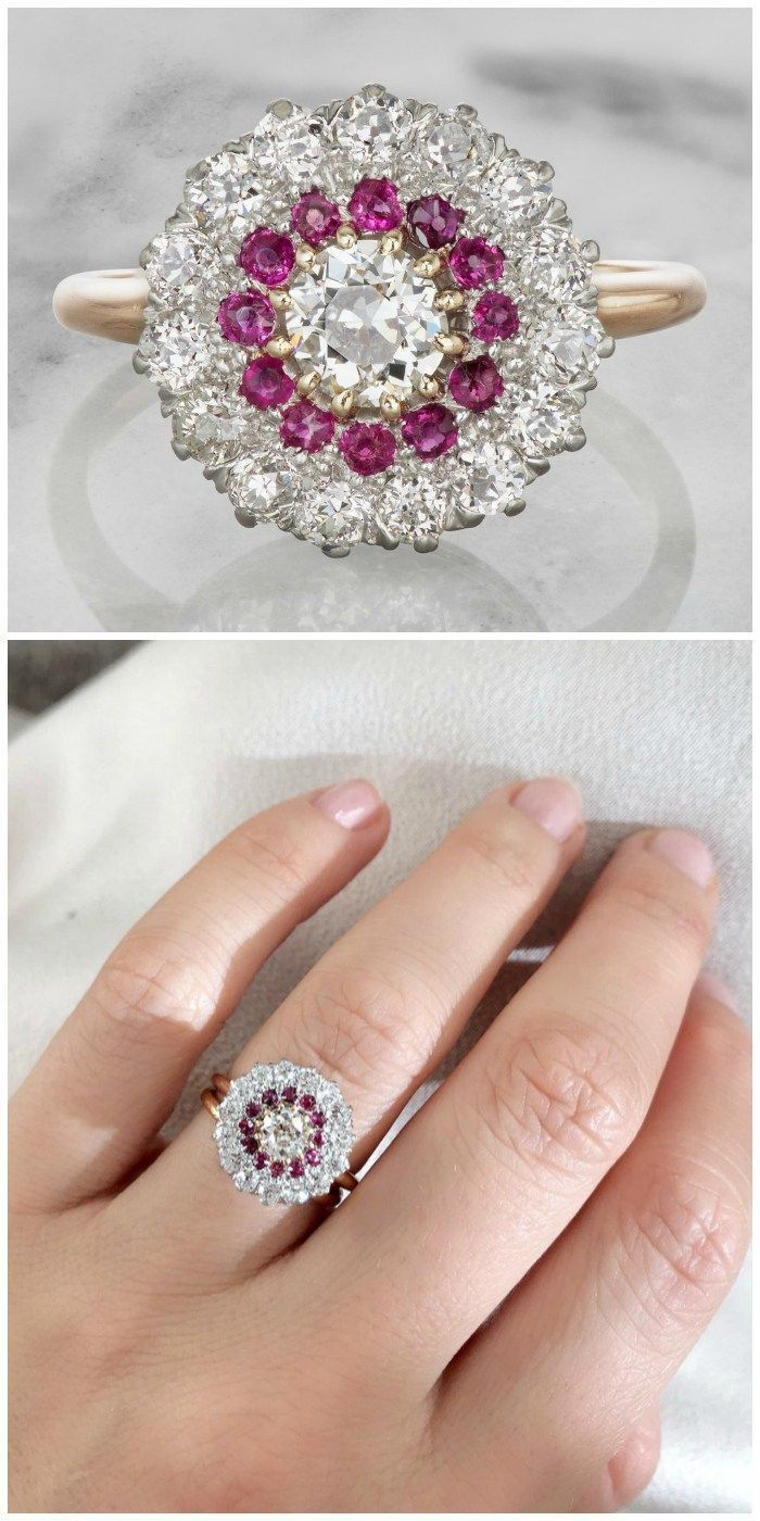 vintage engagement rings from victor barbone antique