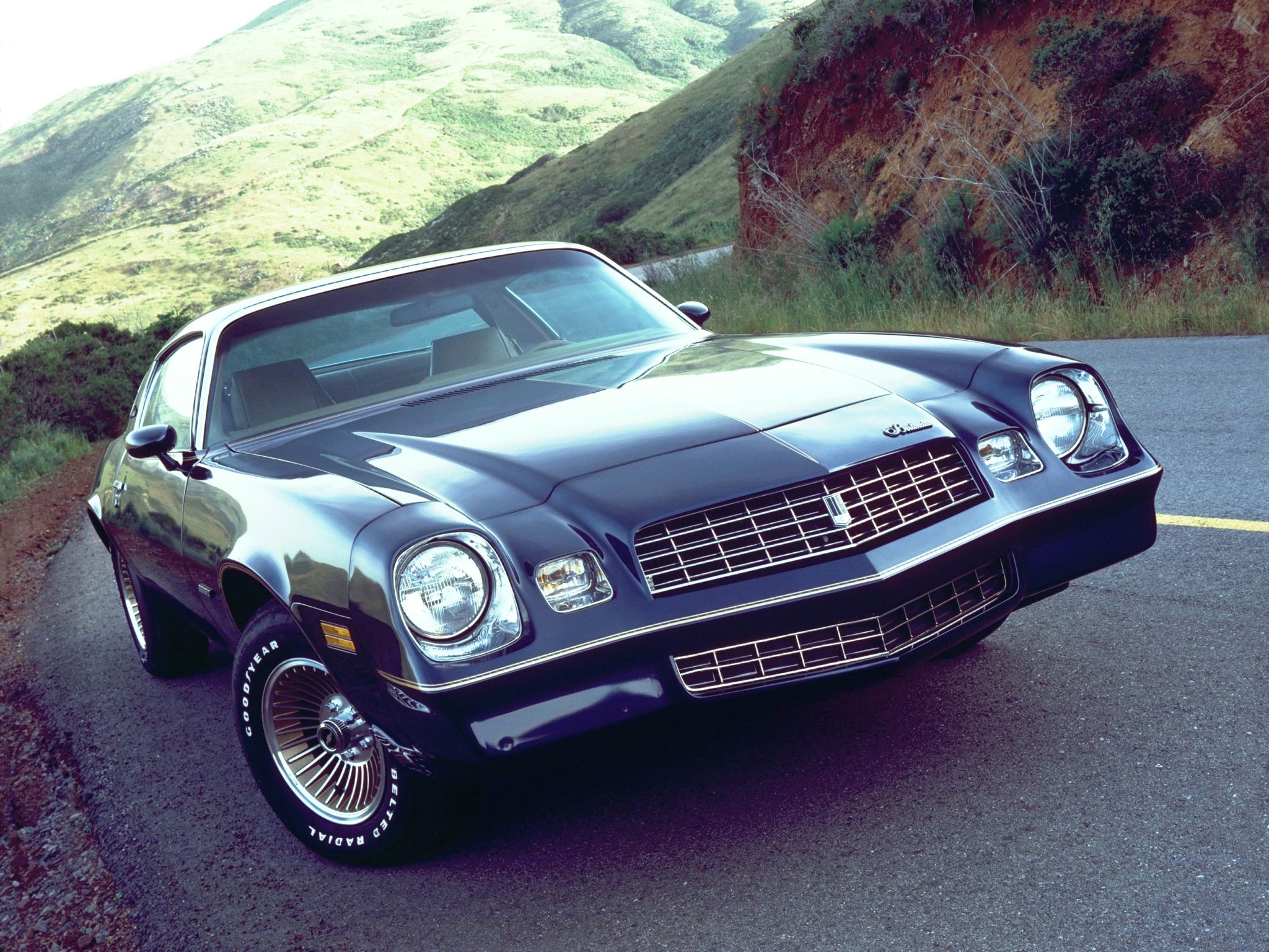 Chevrolet Camaro Berlinetta 1979–1981 wallpaper
