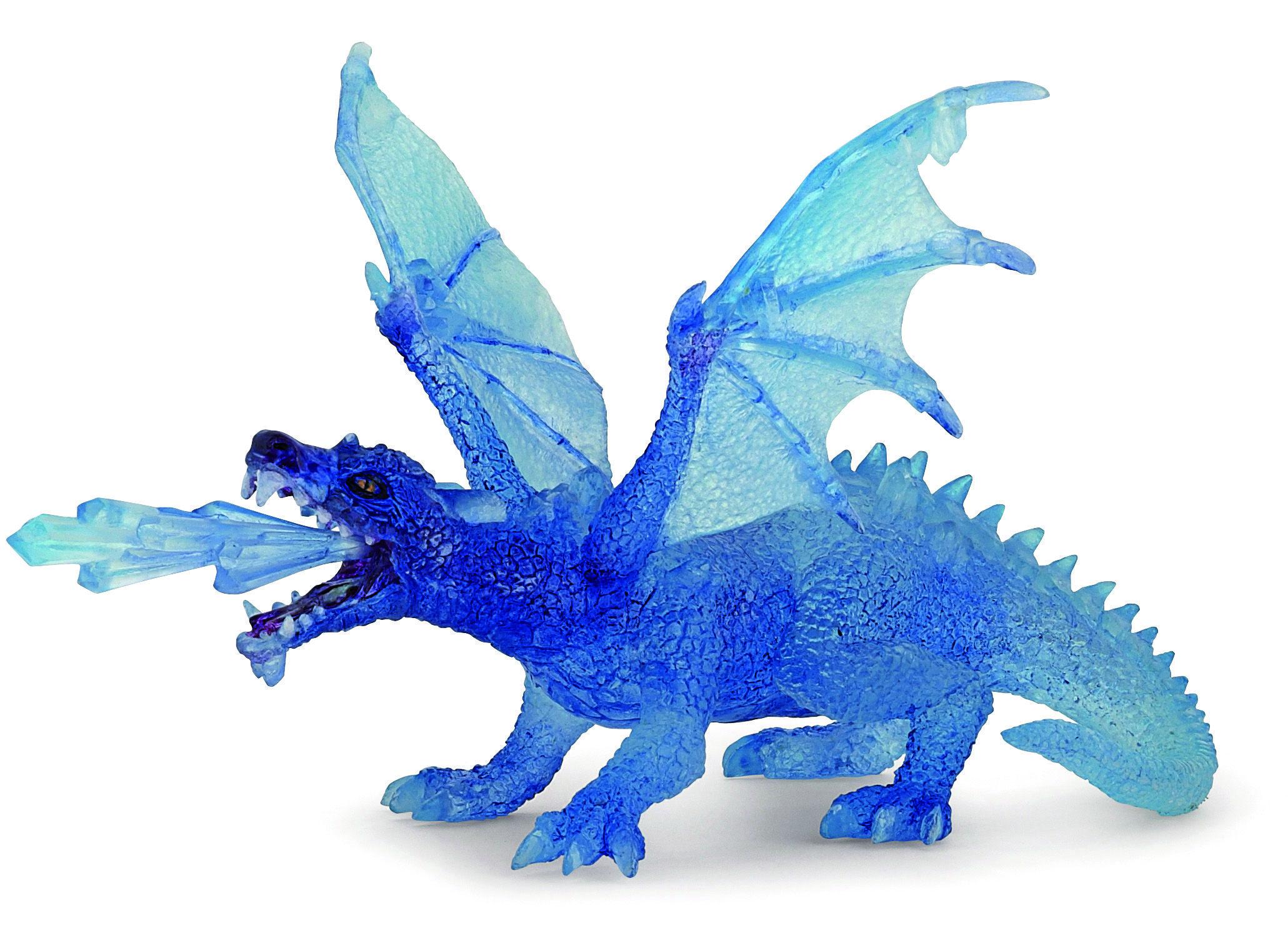 Dragon de Cristal de chez Papo (28 cm) - L'École Buissonnière