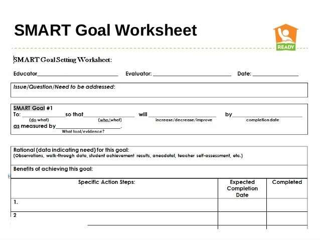smart goals worksheet - Google Search Goals Pinterest Smart - development plans templates