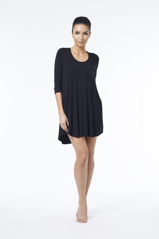 My One and Only 3/4 Sleeve Swing Dress w/ Pocket | FLEUR'T