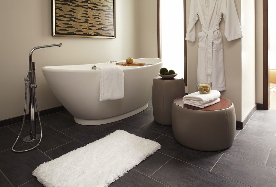 Photo Gallery On Website MTI us award winning Elise freestanding air bath in this beautiful Grand Hyatt San Francisco