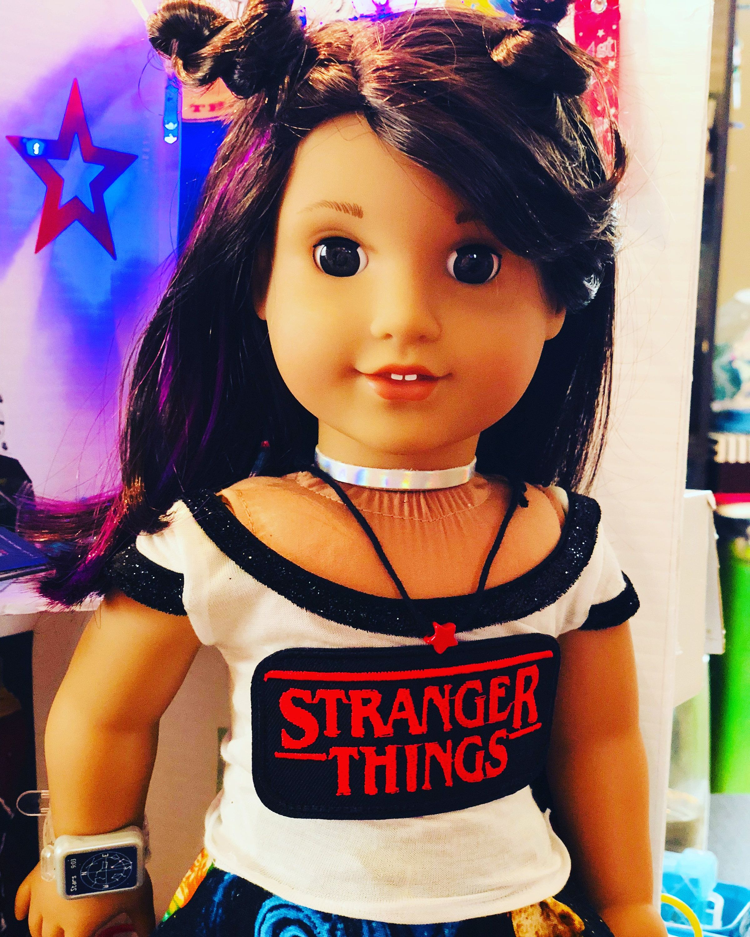 Doll Clothes I8 Inch American Girl Dolls Our Generation Orange T-shirt