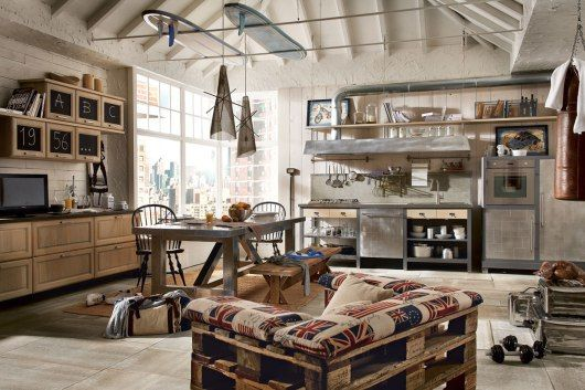Vintage And Industrial Style Kitchens Marchi Group Adorable Home