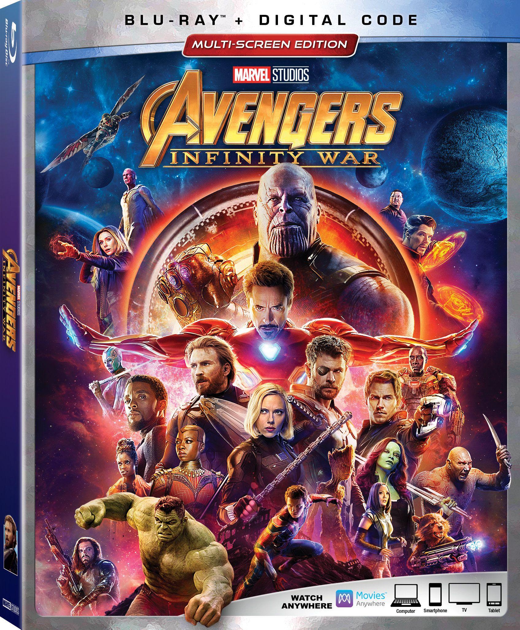 Avengers Infinity War Arriving Digitally And On Blu Ray Infinity War Avengers Avengers Infinity War