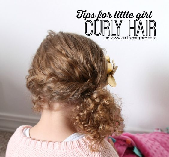 Little Girl Hairstyle Youtube: YouTube Monday: Tips For Little Girl Curly Hair