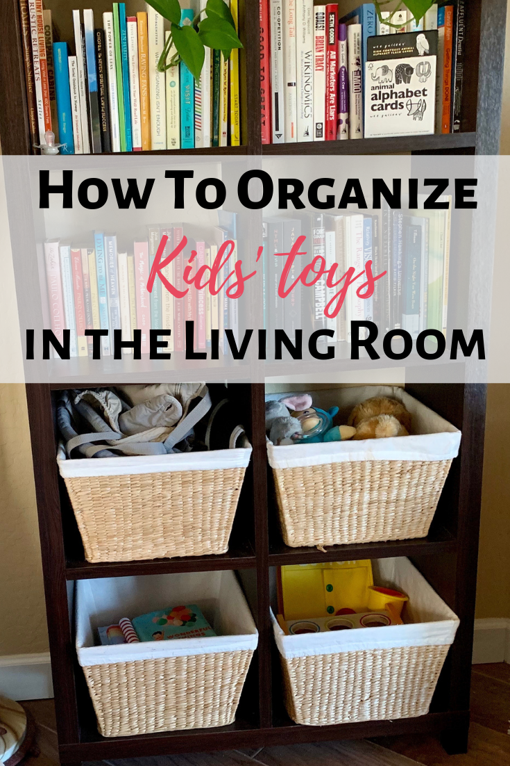 the best way to keep your house organized with a toddler