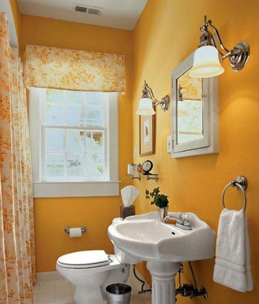 Guest Bathroom Decor Ideas With Matching Shower And Window Curtains Decolover Net