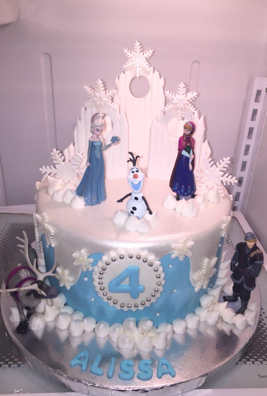 Pin Di Cake Frozen