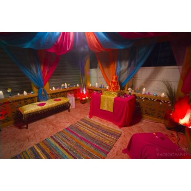 Drapery For A Moroccan Baby Shower Done By Bella Posh. Photography By  Www.crystallopez