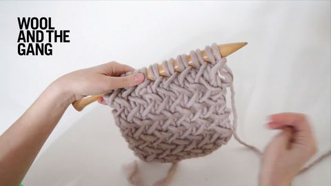 11 herringbone stitch | Knitting&Crochet | Pinterest | Cerdo asado ...
