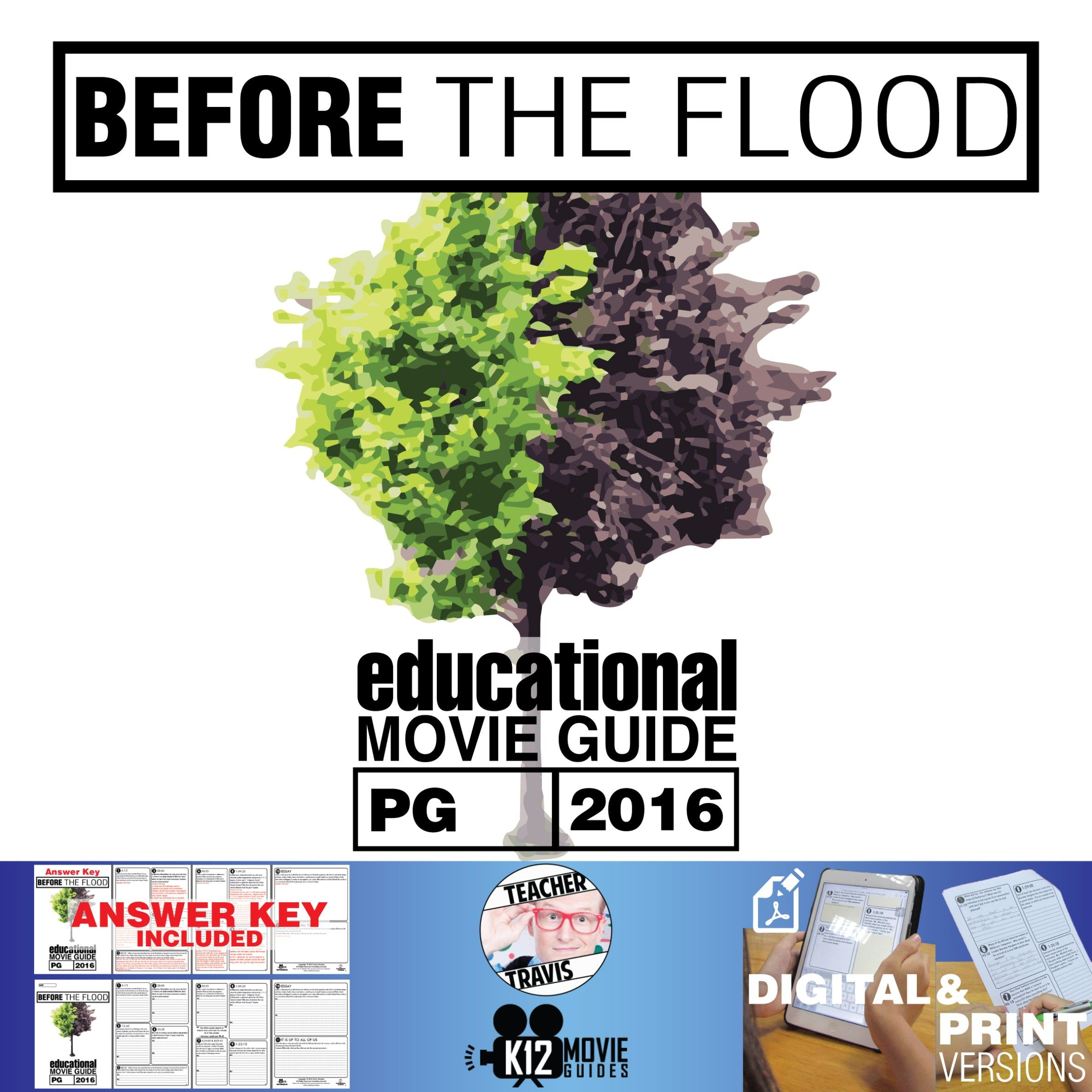 Before The Flood Documentary Movie Guide