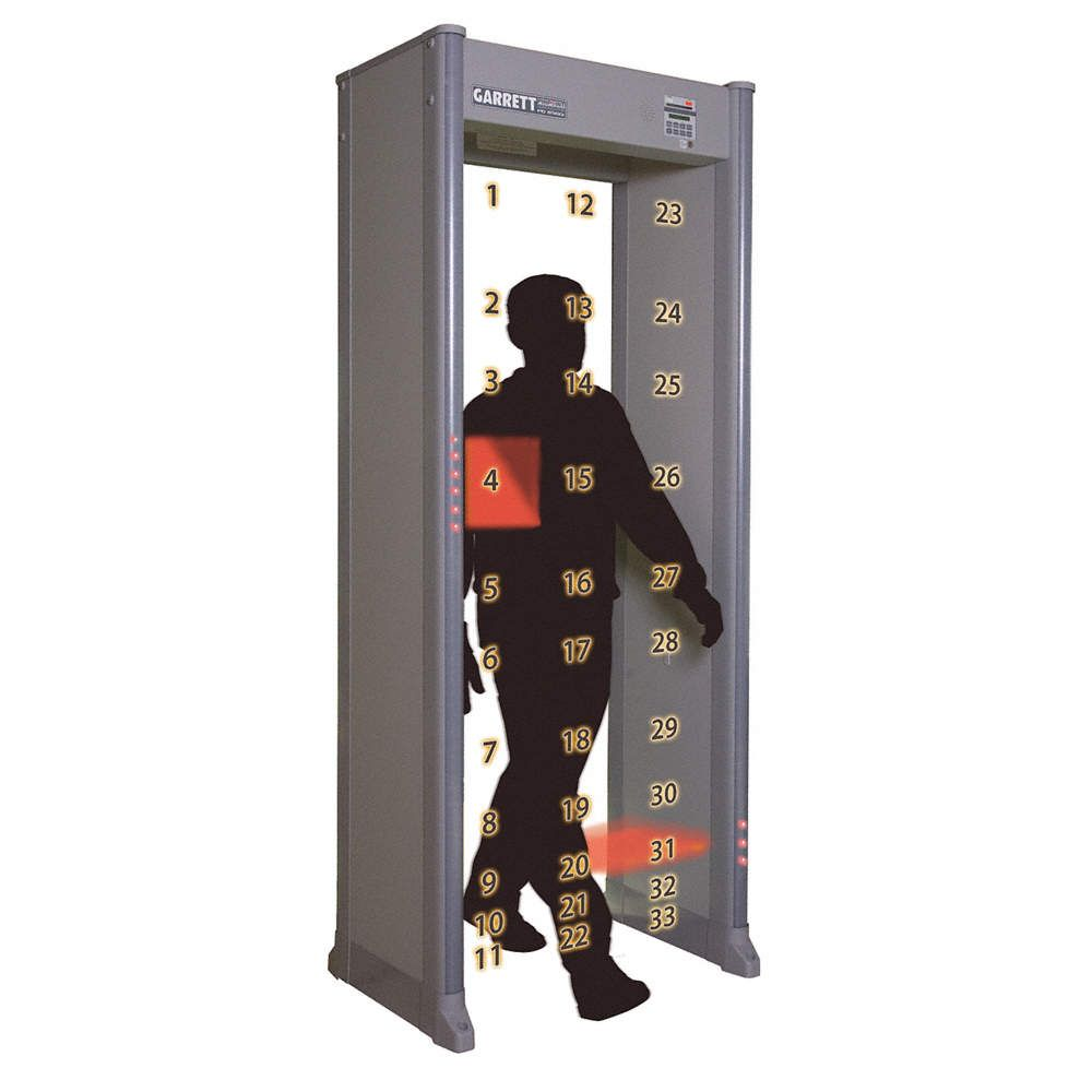 Best Walk Through Metal Detectors Security Metal Detector In 2020 Walk Through Metal Detector Garrett Metal Detectors Metal Detector