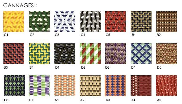 Bistro Chairs · Woven Colors