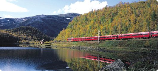 Scandinavian Train Travel Is A Reliable And Popular Method Of Transportation Enjoy The Sights As You Speed By Scandinavia Travel Train Tour Travel Dreams