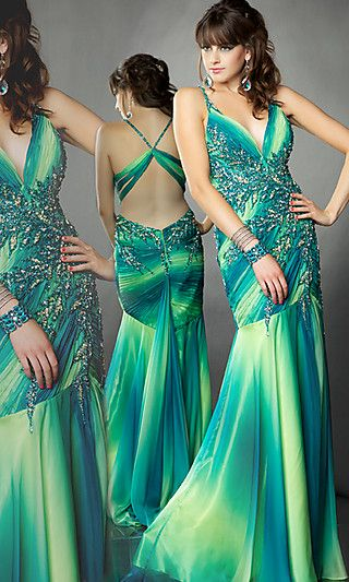 Google Image Result for http://www.shopfashiontoday.com/wp-content/uploads/2011/07/Long-low-v-neck-Green-Ombre-Prom-Dress.jpg