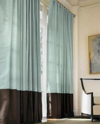 Living Room Curtain Design Delectable Marvellous Blue Brown Bedroom Design Decobizzbrown Curtains Decorating Inspiration