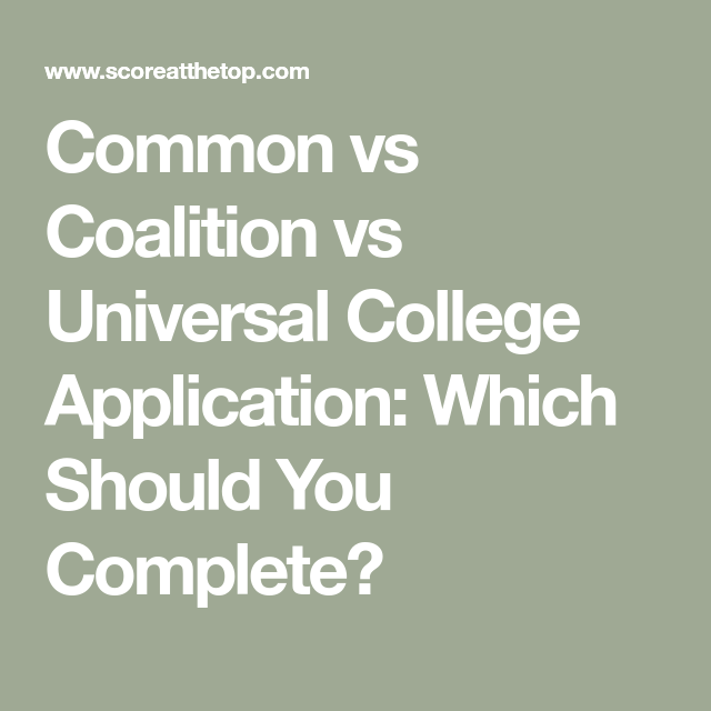 Get Directions On College Applications Score At The Top
