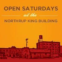 Open Saturdays at Northrup King Building art, Northrup