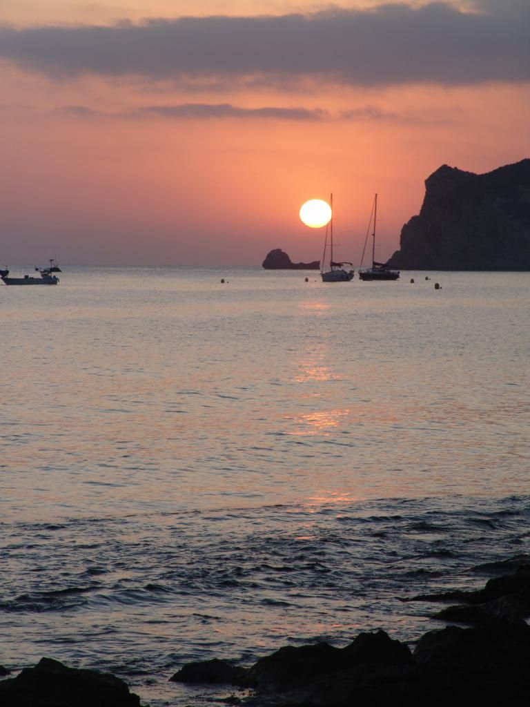 Javea bay at Sunrise