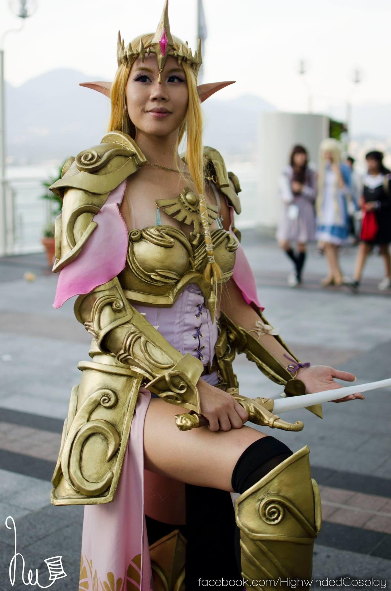 Princess Zelda Cosplay From Hyrulewarriors By Highwinded