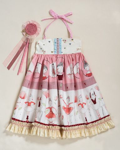 Baby & Toddler Clothing Matilda Jane Good Hart Butterfly House Ballet Stripe Dress Size 2 Delicious In Taste Clothing, Shoes & Accessories