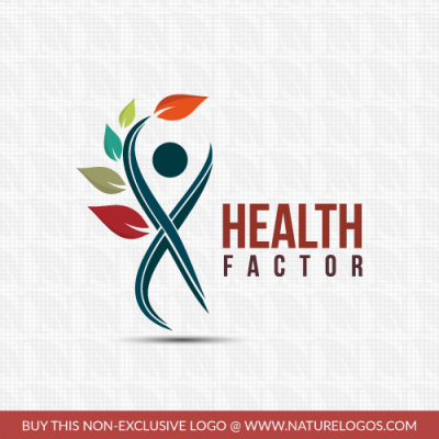 this logo is suitable for health logo healing hand craft personal name blogs online store - Home Health Logo Design
