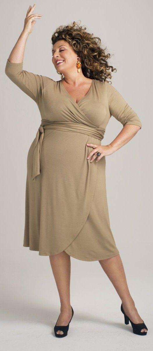 Vestido Tallas Grandes La Redoute Moda Para Mujer Vestidos De Talla Grande Moda