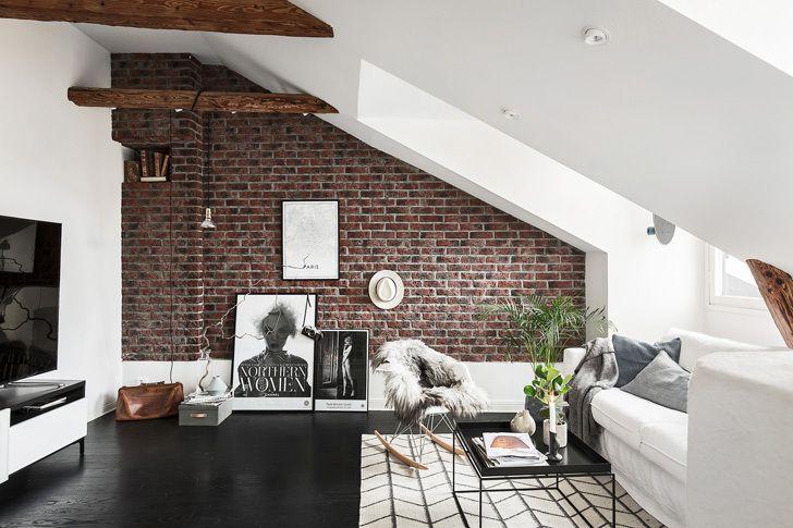 4x styling tips voor een woonkamer met schuin plafond | Interieur ...
