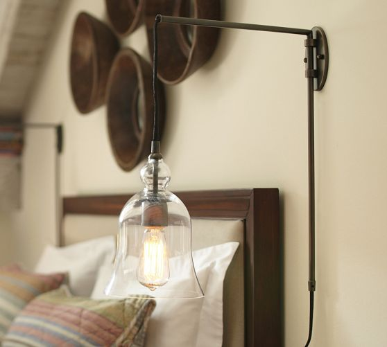 Bedroom Arrangement Ideas Sconce Lighting Bedroom Bedroom Ideas Red Latest Bedroom Colors Images: Pottery Barn Madison Glass Pendant Sconce