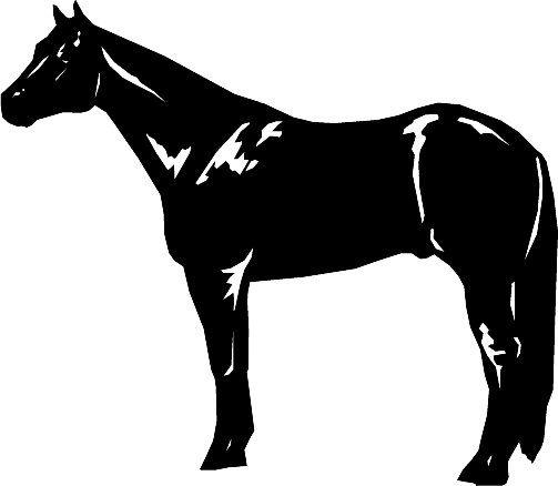 Quarter Horse Horse Clipart Horse Silhouette Horses Quarter Horse