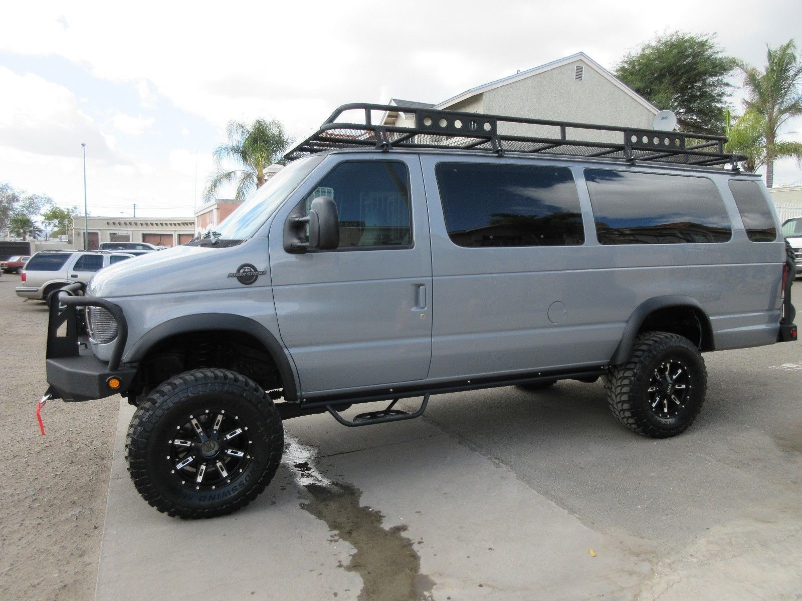 Ford E350 4wd Installed By Advanced Four Wheel Drive Systems