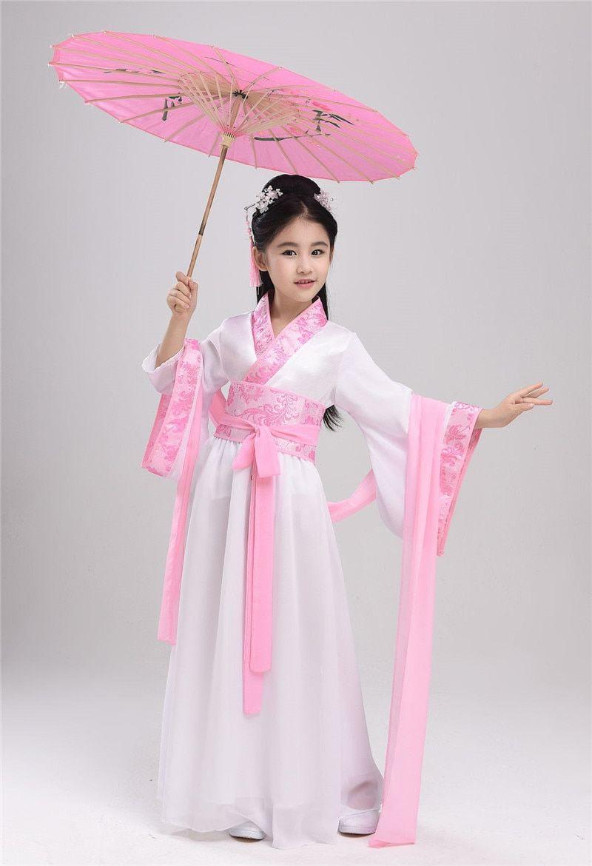 Ancient Chinese Hanfu Dress For Kids Wayasian Kids Dress Traditional Dresses For Kids Little Girl Dresses