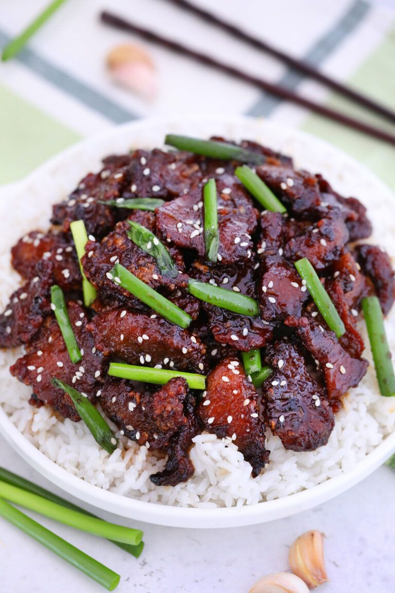 PF Chang's Mongolian Beef Copycat Recipe Beef recipes