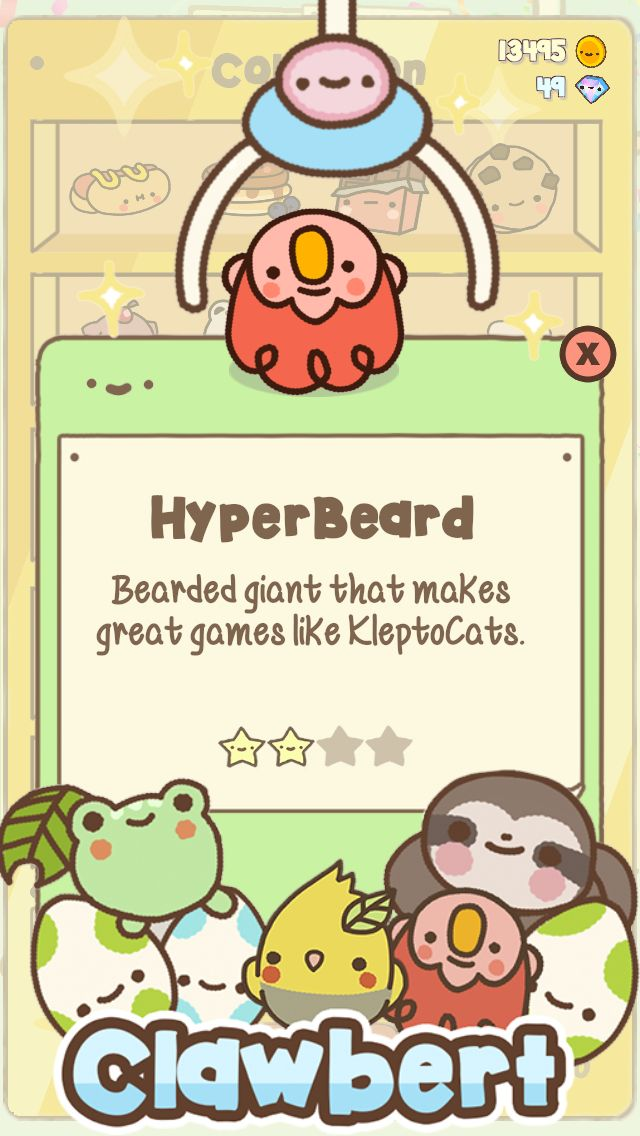 Look what I found with ClawbertGame Clawbert Cute