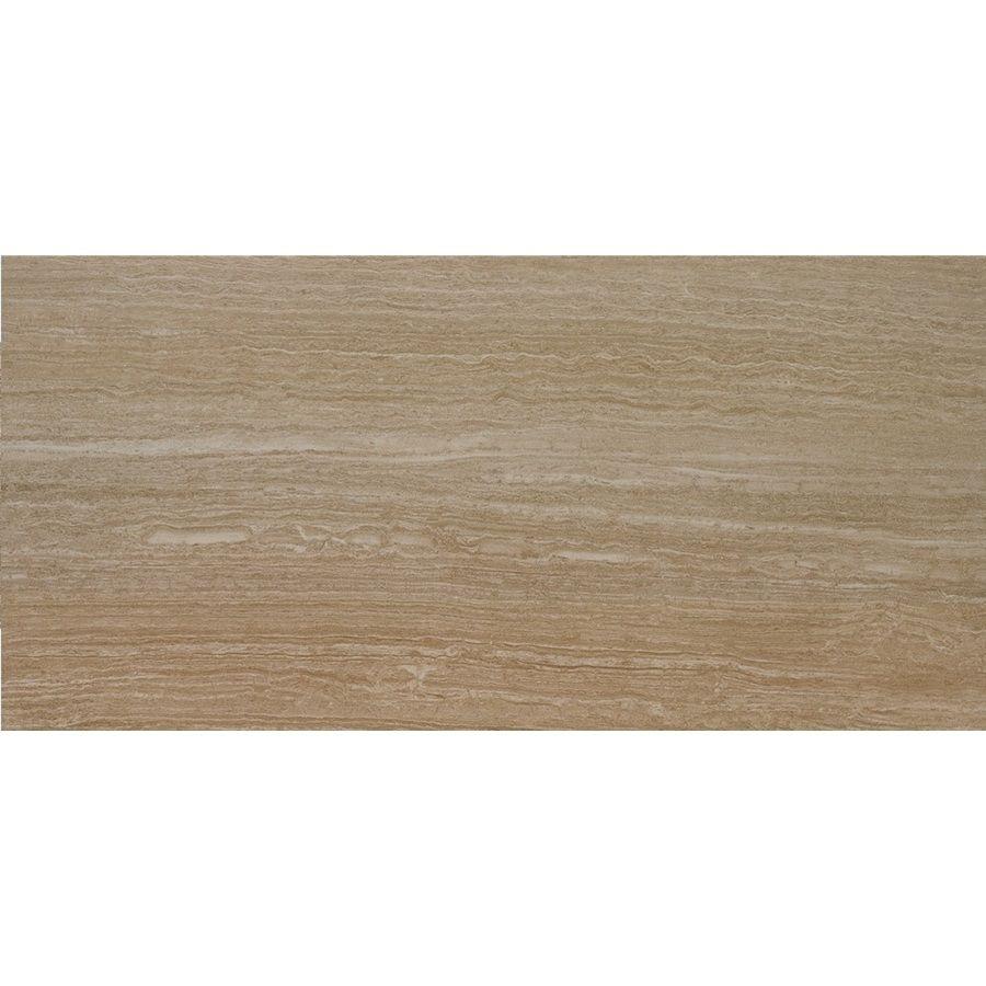Shop 12-in x 24-in Leonia Sand Glazed Porcelain Floor Tile at ...