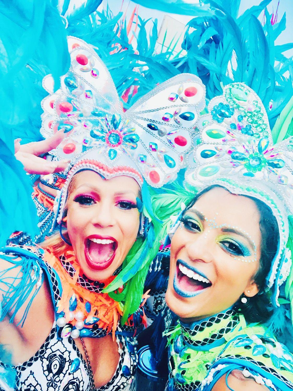 Curacao Karnaval (Carnival) Makeup Germaine Gibbs
