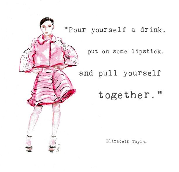 FASHION ILLUSTRATOR QUOTES image quotes at relatably.com | Illustrations u0026 some more | Pinterest ...