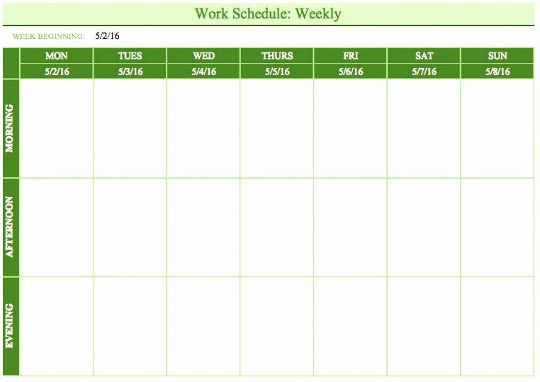Excel 2010 Calendar Template In 2020 Schedule Template Schedule