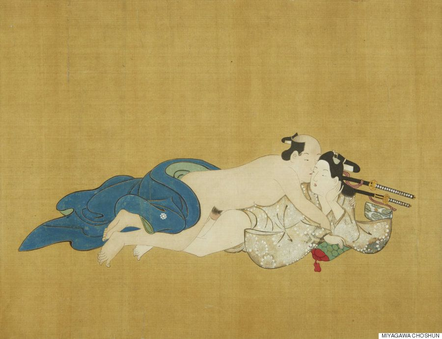 Erotic gay japanese illustrations #11