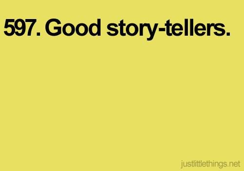 Hyviä tarinoita.