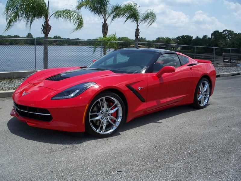 2014 Corvette Coupe For Sale In Florida 2014 Red 2lt Z51 Coupe 6 000 Miles In 2020 Corvette Corvette For Sale 2014 Corvette