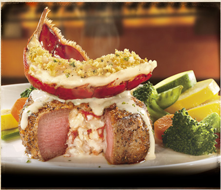 Lobster Stuffed Steak With Lobster On Top 3 Only At Longhorn Food Fabulous Foods Yummy Food