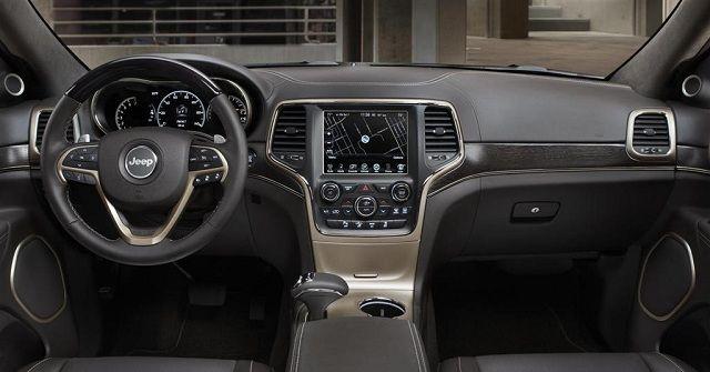 2015 Jeep Cherokee Interior